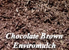 Chocolate brown enviromulch in Washington County, WI